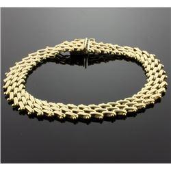 8 Inch Gold Bracelet