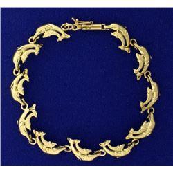 Dolphin Link Bracelet