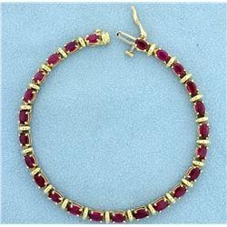 6ct Natural Ruby Bracelet