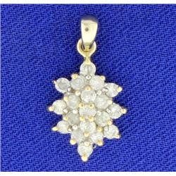 2/3 ct TW Diamond Pendant