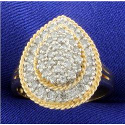 1.1 Ct TW Diamond Fashion Ring