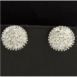 2 ct TW Diamond Earrings