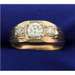 1.3ct TW Men's Diamond Ring
