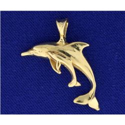 Dolphin Mother/Child Pendant