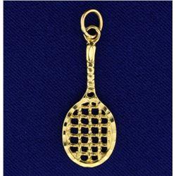 Tennis Racket Pendant