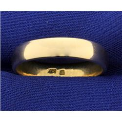 Men's 14k Gold Wedding Band