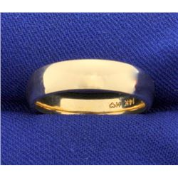 5mm 14k Yellow Gold Wedding Band Ring