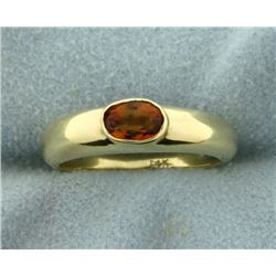 High Quality Natural Citrine Ring