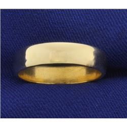 Yellow Gold 5mm Band Wedding Ring