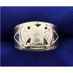 32 Degree Mason Ring