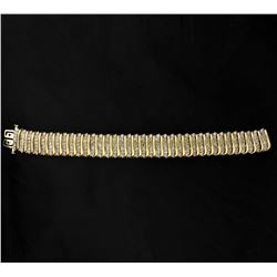 12ct Champagne Diamond Bracelet