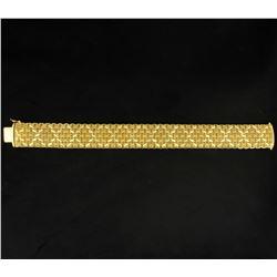 Italian Made Vintage 14K Gold Fashion Bracelet