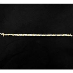 1.25ct Total Weight Diamond Bracelet