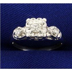 1/4ct TW Diamond Ring