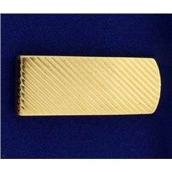 14k Gold Money Clip