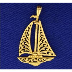 Sailboat Pendant