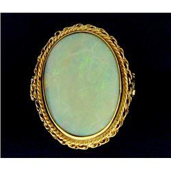 Vintage Large Opal Ring
