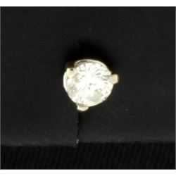 Single .15ct Diamond Stud Earring