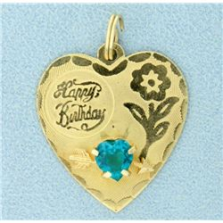 Happy Birthday Pendant/Charm
