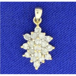 2/3 ct TW Diamond Pendant