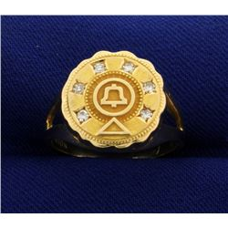 Vintage Bell Labs Diamond Ring