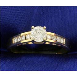 3/4ct TW Diamond Engagement Ring