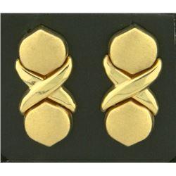 X/O Dangle Designer Earrings