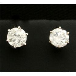 1ct TW Diamond Stud Earrings