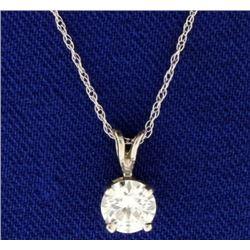 .6ct Diamond Pendant with Chain