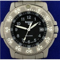 Traser Commander 100 Force Military Titanium Watch