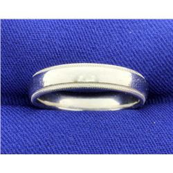 Scott Kay Designer Platinum Wedding Band