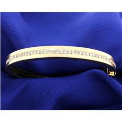 2 ct Diamond Bangle Bracelet