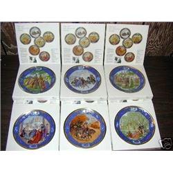 6 Plate Das Jahr Der Liebenden Collector Plate Set