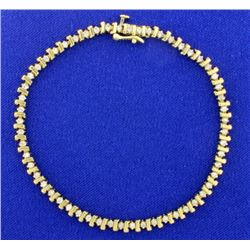 3/4ct TW Diamond Tennis Bracelet