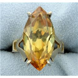 12ct Citrine Ring