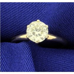 1.1ct Solitaire Diamond Ring