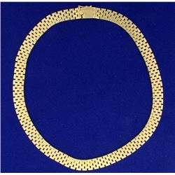15 1/4 Inch Oyster Link Neck Chain