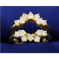 1ct TW Diamond Ring Band/Guard