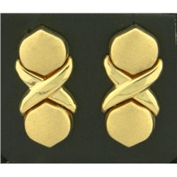 X/O Dangle Designer Earrings