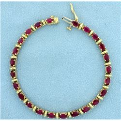 6ct Natural Ruby Bracelet