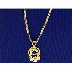 Jesus Pendant and Chain