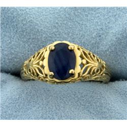 1.5ct Natural Sapphire Ring