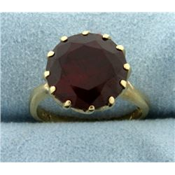 6ct Lab Ruby Ring