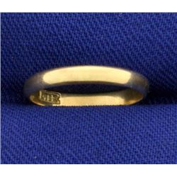 Midi or Child Baby Ring Band Ring in 14k Gold