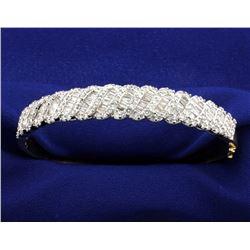 5 Carat Diamond Bangle Bracelet