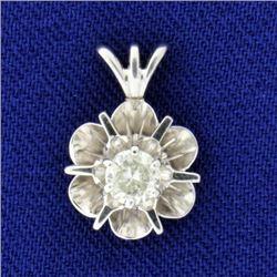 1/4ct Diamond Pendant