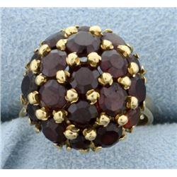 Italian Made 18K Gold & Ruby Ring