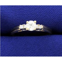 1/2ct Total Weight Diamond Ring