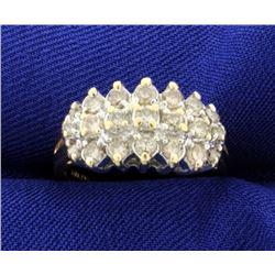 1ct TW Champagne Diamond Ring
