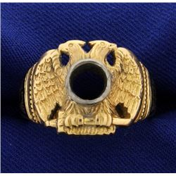 32 Degree Masonic Ring